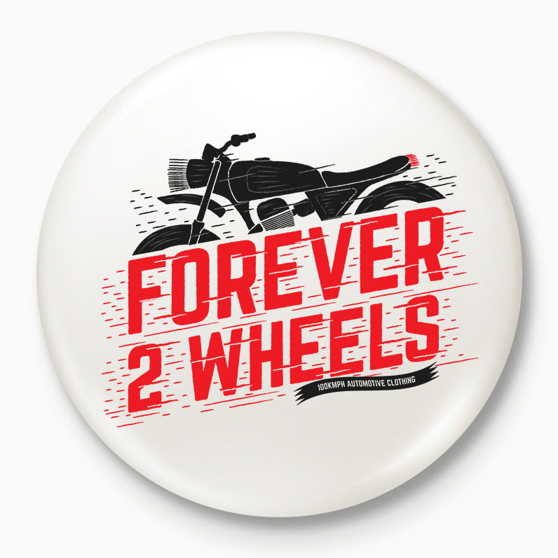 Buy-Forever-2-Wheels-Badges| 100kmph