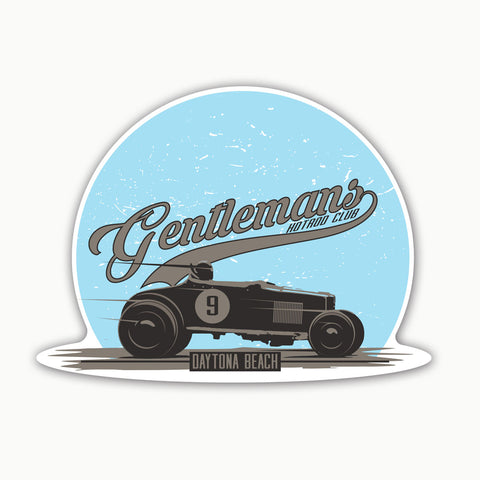 Gentleman Hot Rod  | Sticker