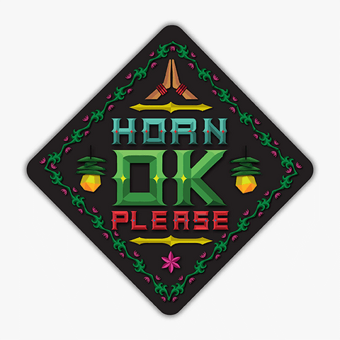 Horn Ok Please | Sticker