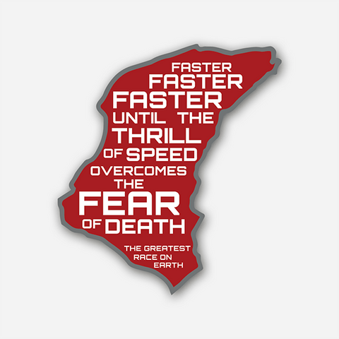 Faster Faster Faster | Sticker