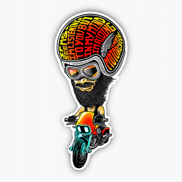 In My Mind | Sticker