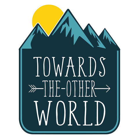 TOWARDS THE OTHER WORLD (CAR) | Sticker