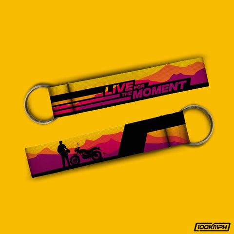 LIVE FOR THE MOMENT | Keychain