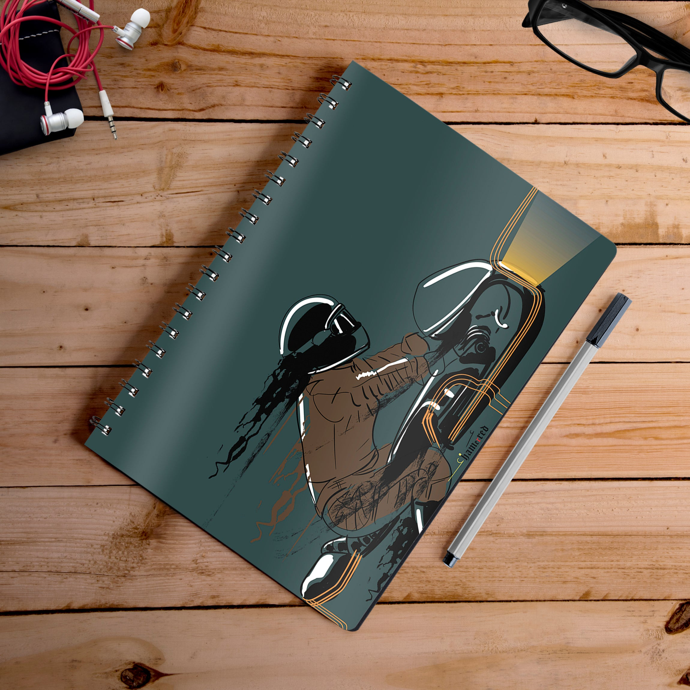 Buy-Midnight-Foolery-Artist-Hamerred49-Notebook | 100kmph