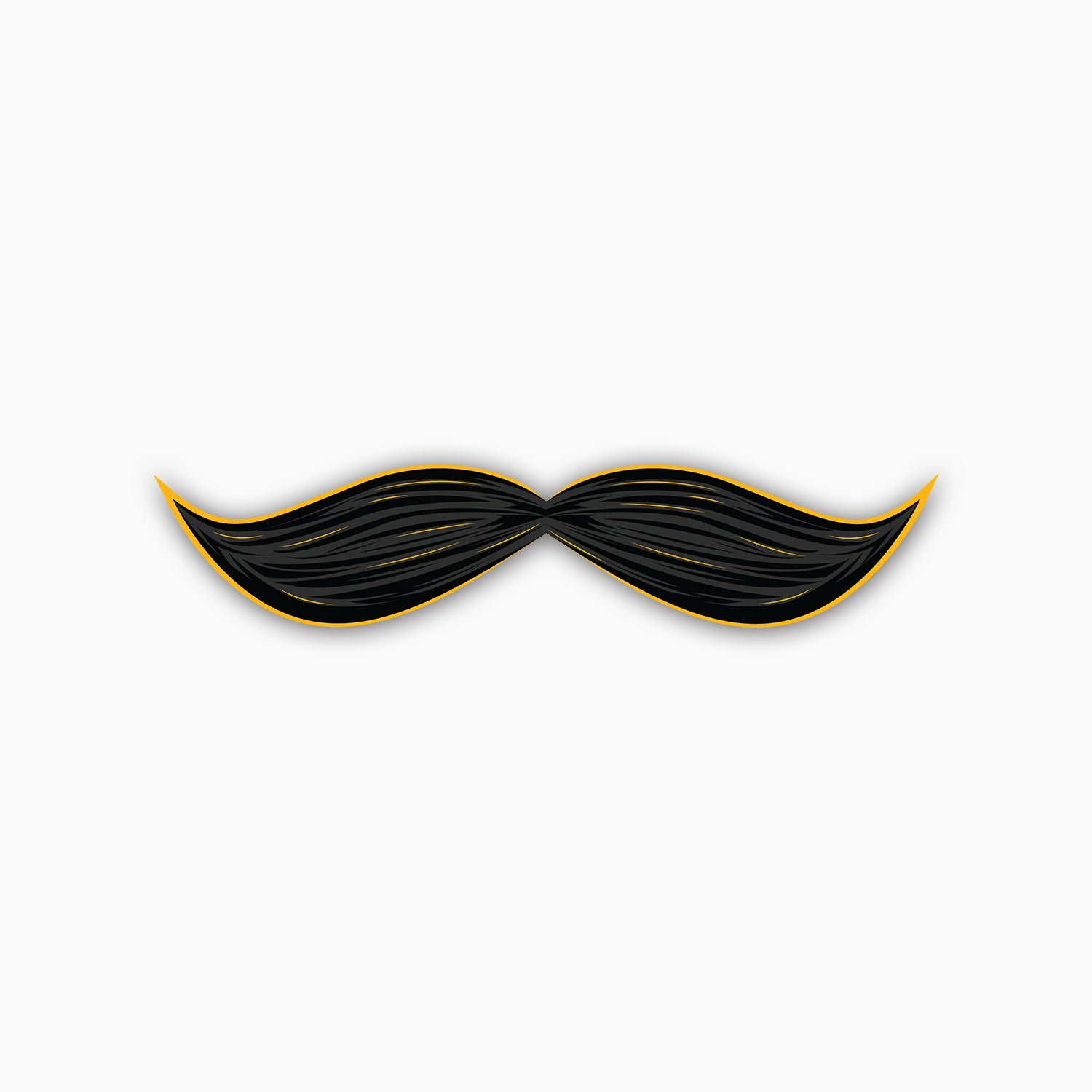 Gentlemen's Mustache | Sticker