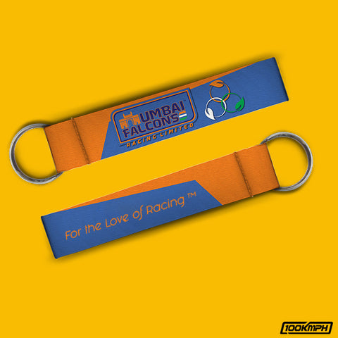 Mumbai Falcons-For the Love of Racing | Keychain