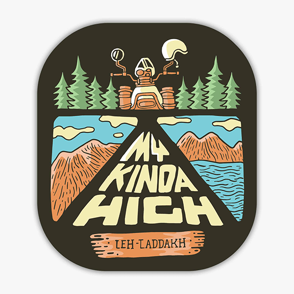 My Kinda High | Sticker