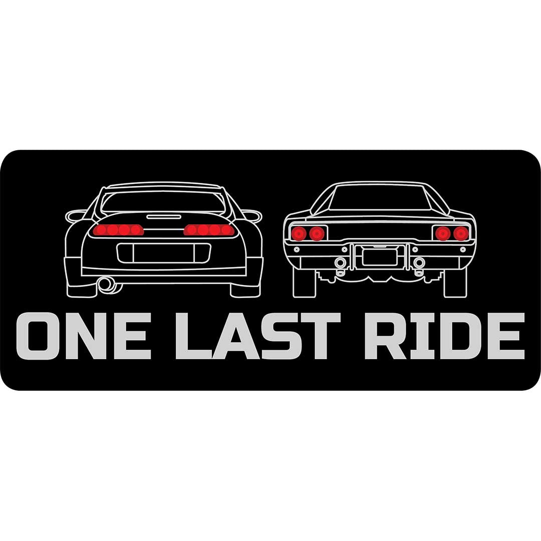 ONE LAST RIDE (CAR) | Sticker