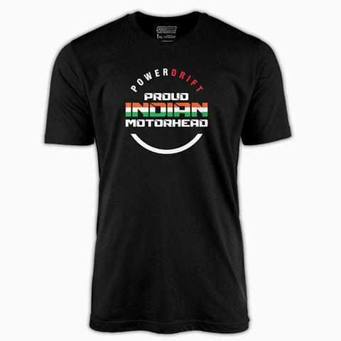 PowerDrift-Proud Indian Motorhead #2 | T-Shirt