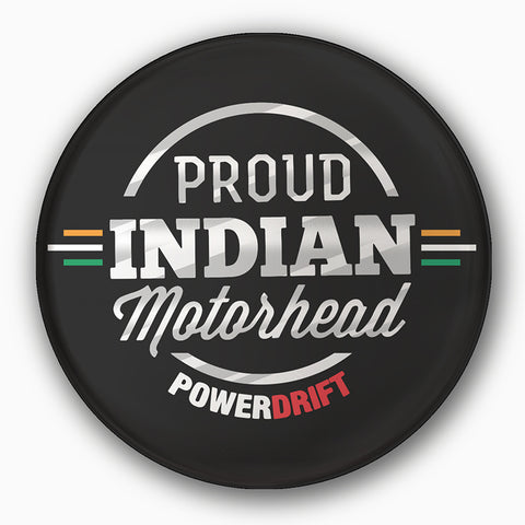 PowerDrift-Proud Indian Motorhead | Badge