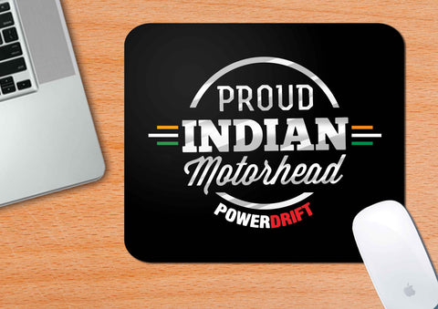 PowerDrift-Proud Indian Motorhead | Mouse Pad