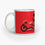Red Jet | Coffee Mug