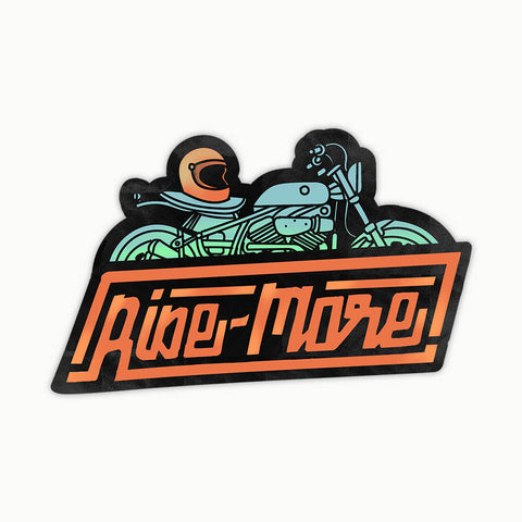 Ride More | Sticker