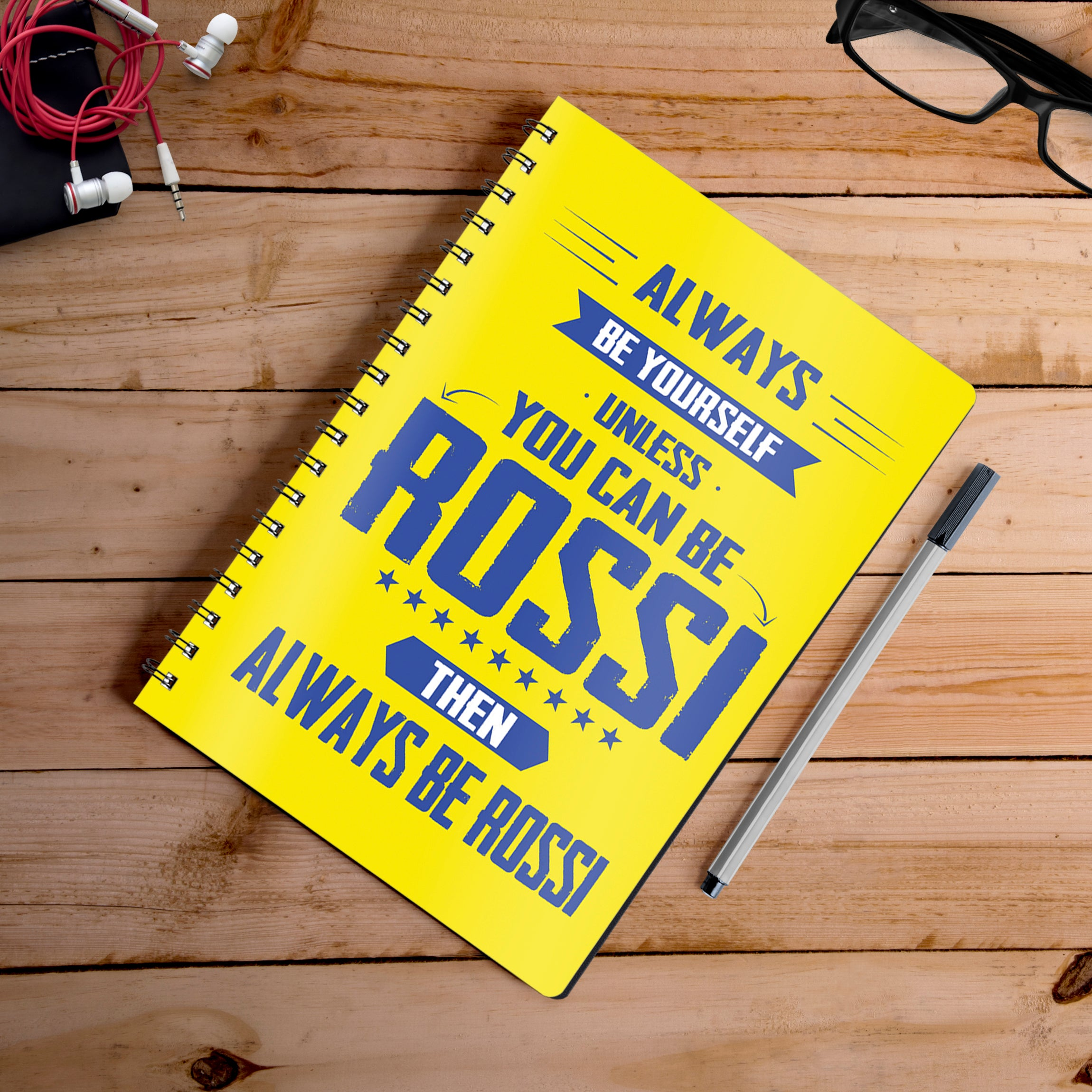 Buy-Rossi-Notebook | 100kmph