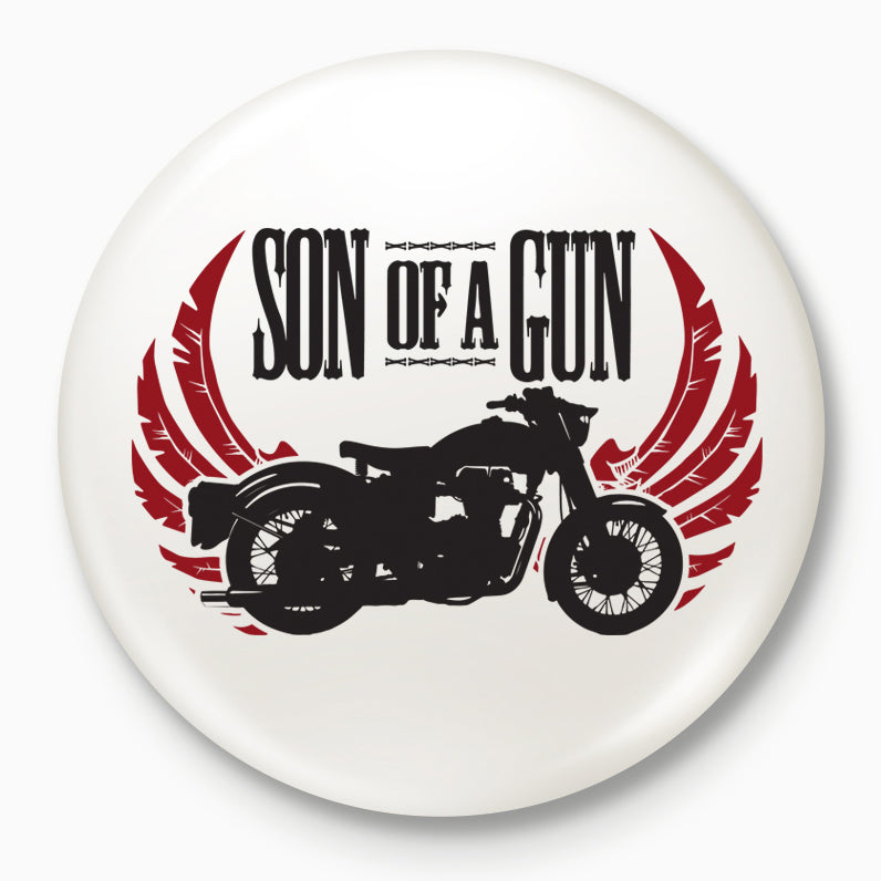 Buy-Son-Of-A-Gun-Badges| 100kmph