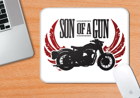 Son Of A Gun | Mouse Pad