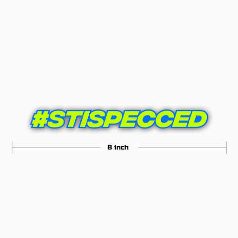 STISPECCED-STI | Sticker