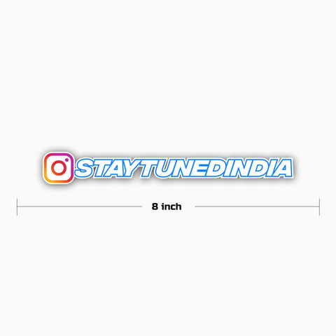 StaytunedIndia-STI | Sticker