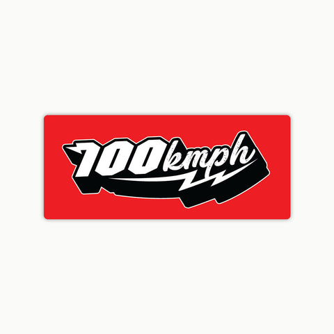 Super 100Kmph | Sticker