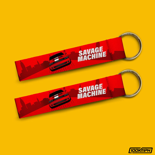 Savage Machine | Keychain