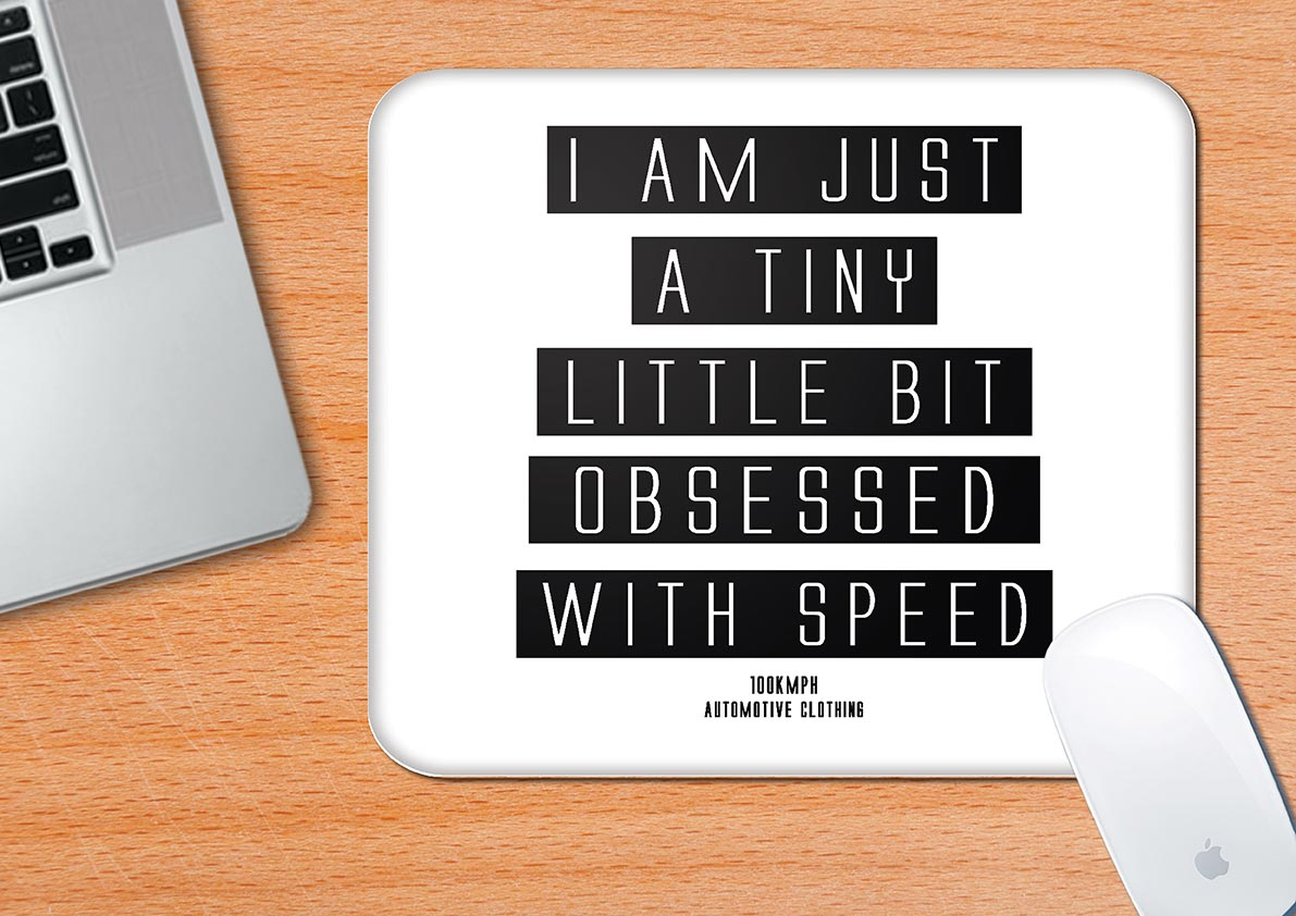 Buy-Obsessed-With-Speed-Mouse-Pad| 100kmph