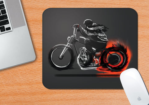 Spirit Of The Biker | Artist: Hamerred49 | Mouse Pad