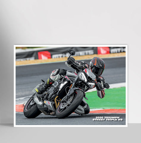 Fast Bikes India-2020 Triumph Street Triple RS #1 (Limited Edition) | Poster