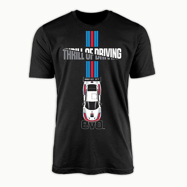 Send It-THRILL OF DRIVING-EVO INDIA | T-SHIRT