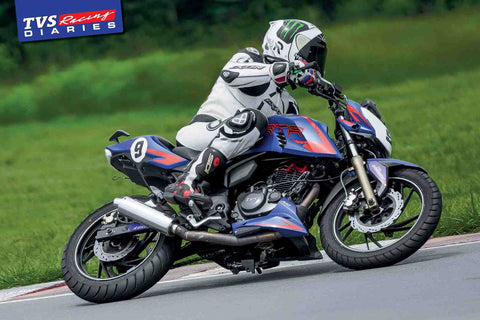 Fast Bikes India-TVS Racing #3 (Limited Edition) | Poster