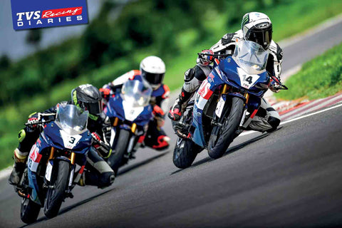 Fast Bikes India-TVS Racing # 2 (Limited Edition) | Poster