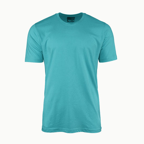 Solid Teal Blue | T-Shirt