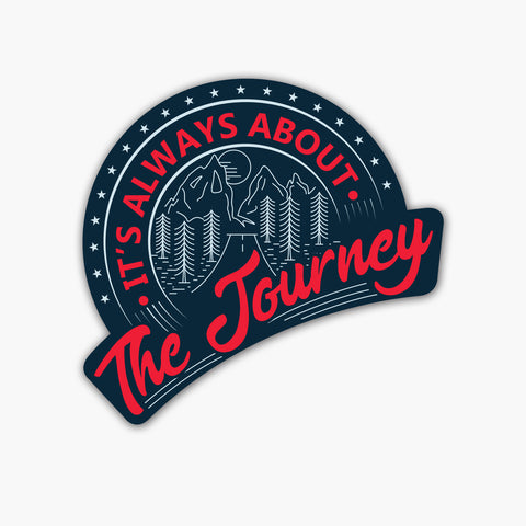The Journey | Sticker