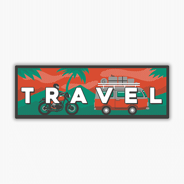 Travel | Sticker