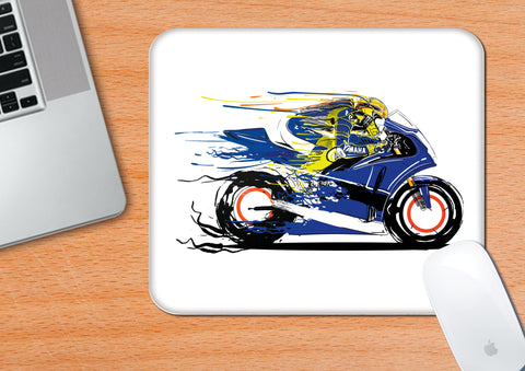 Vale-White | Mouse Pad