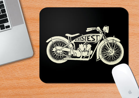 Vintage Motorcycles #1 | Mouse Pad