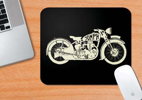 Vintage Motorcycles #2 | Mouse Pad