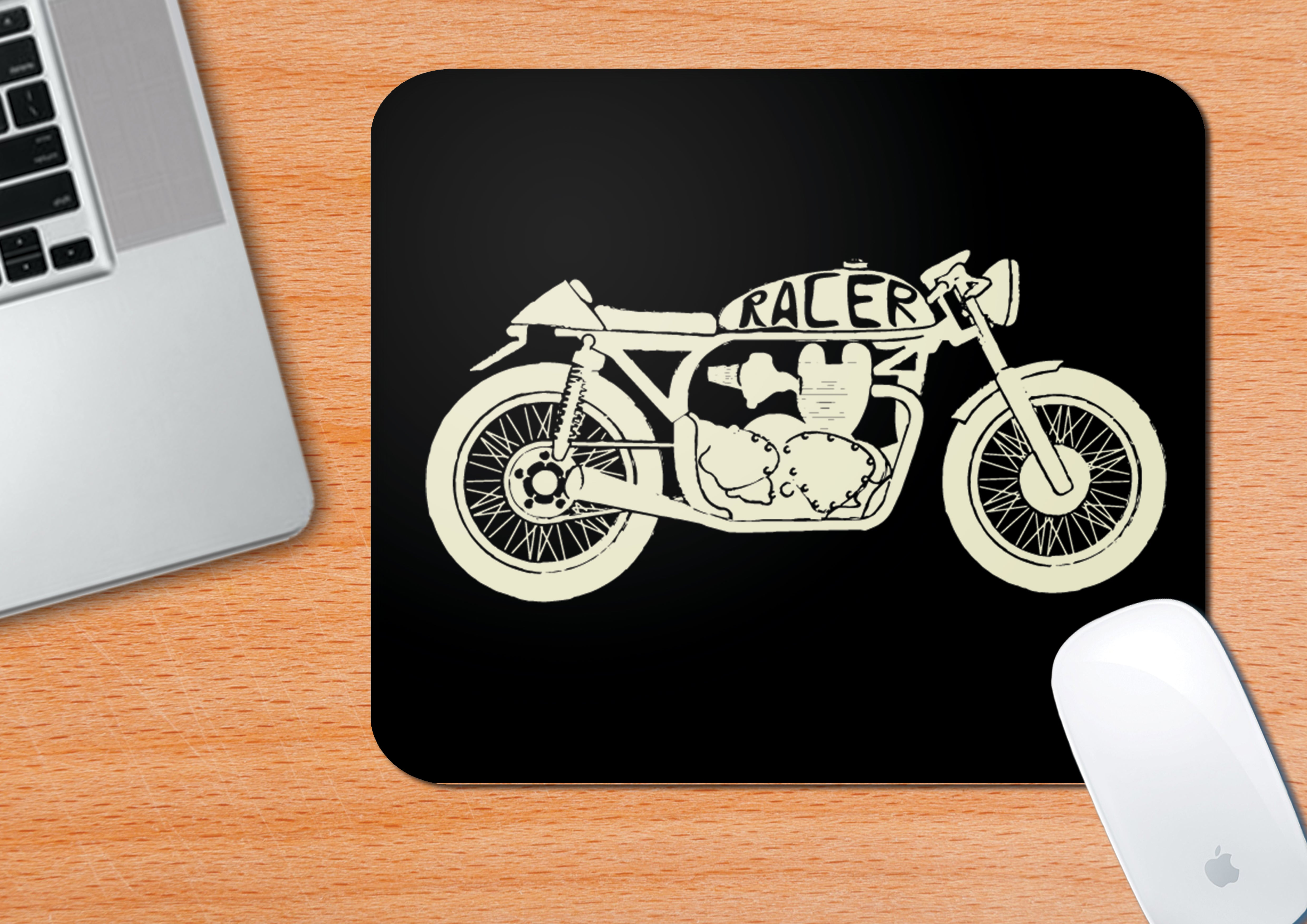 Buy-Vintage-Motorcycles-#3-Mouse-Pad| 100kmph