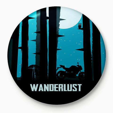 Wanderlust | Badge