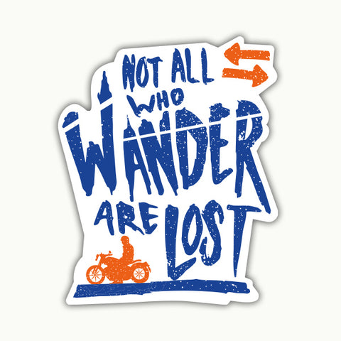 WANDER | Sticker