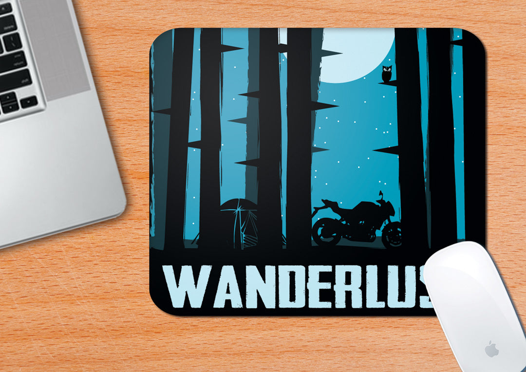 Buy-Wanderlust-Mouse-Pad| 100kmph