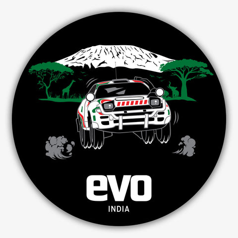 Desert Rally-EVO INDIA | Sticker