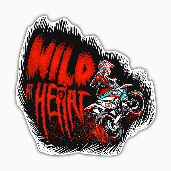 Wild At Heart | Sticker