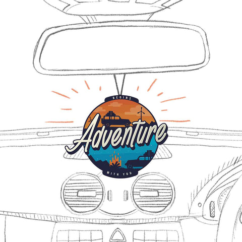 Adventure | Fragrance: Lemon | Air Freshener