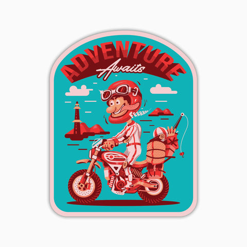 Adventure Awaits | Sticker