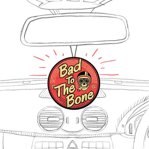 Bad To The Bone | Air Freshener