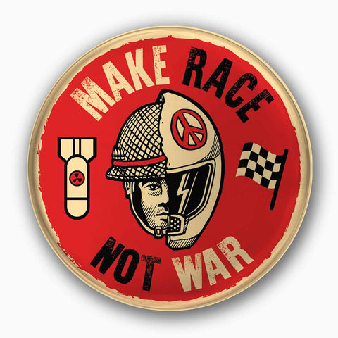 Make Race Not War | Badge