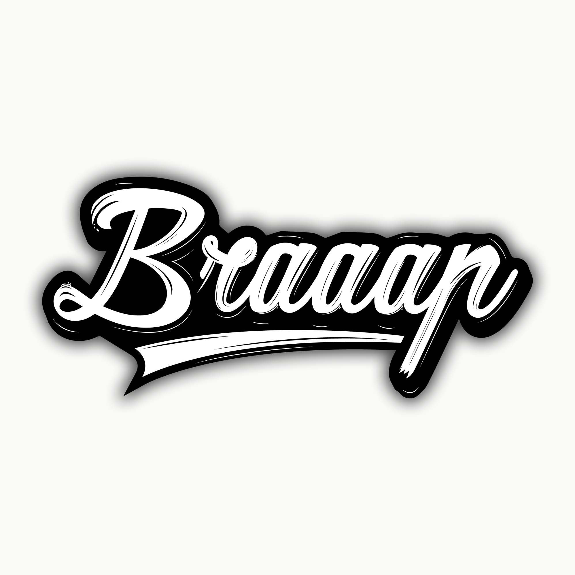 Buy-Braaap-Stickers| 100kmph