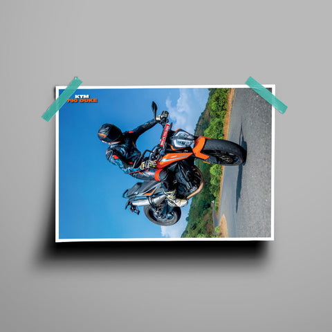 Fast Bikes India-KTM Duke 790 Wheelie (Limited Edition) | Poster