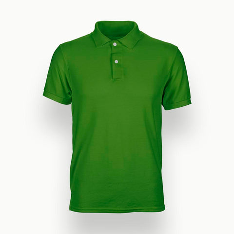 Solid Green | Polo T-Shirt