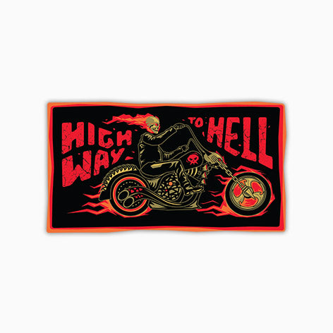 Highway To Hell | Sticker